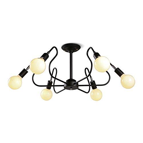 BRIGHTLLT Lampe de plafond rétro LED moderne Simple Restaurant Nordic Fashion Style Creative Living Room Service de Chambre, 770 * H320mm