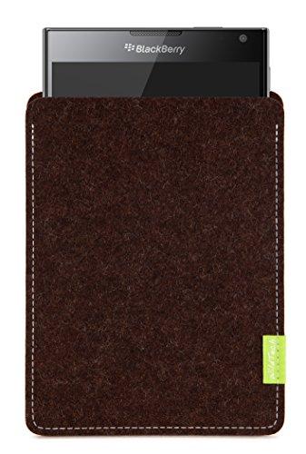 WildTech Sleeve für BlackBerry Passport Hülle Tasche - 17 Farben (Handmade in Germany) - Trüffelbraun