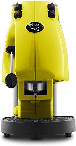 PODS MACHINE DIDIESSE FROG REVOLUTION 2021 + 15 PODS MOKAOR ITALIAN ESPRESSO SINCE 1954 - VARIOUS COLOUR (Yellow)