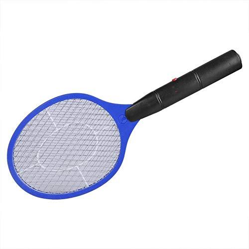 Falsfy Home Elettrico Fly Zanzariera Zanzariera Zanzara Bug Zapper Racchetta Insetti Assassino Cordless Batteria Alimentazione Zanzariera Swatter C