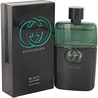 Gucci Guilty Black Pour Homme by Gucci for Men - Eau de Toilette, 100ml