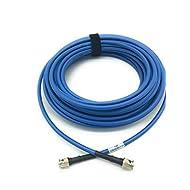 50ft AV-Cables 3G Precision HD SDI BNC RG6 Cable - Blue
