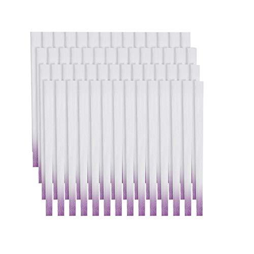 Ebanku 100 pezzi Fibra di vetro per unghie Estensione Fibra di vetro Set, Professional Nail Extension Fiberglass fibra di seta del chiodo Shaping Materiale False Nails Salon Manicure Accessori