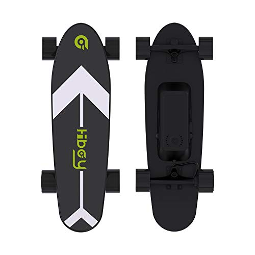 Hiboy S11 Electric Skateboard with Wireless Remote, Longboard Single Hub Motor, Light Weight 7.94LBS, Top Speed 12.4MPH, Range 6.2 Miles, for Teens and Students(Upgraded Version)
