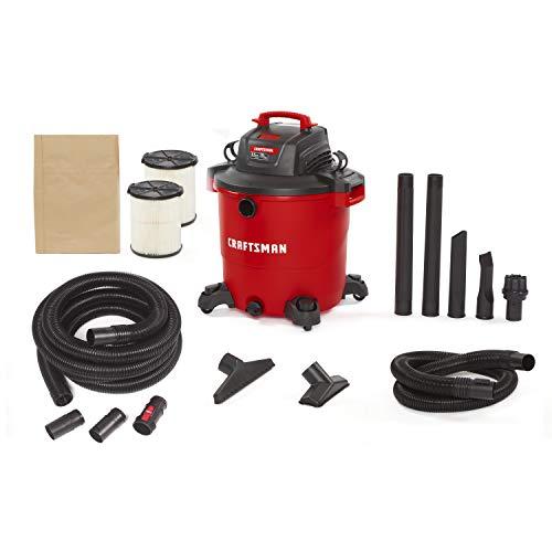 Best Price CRAFTSMAN CMXEVBE17596 20 Gallon 6.5 Peak HP Wet/Dry Vac, Heavy-Duty Shop Vacuum with 20-...