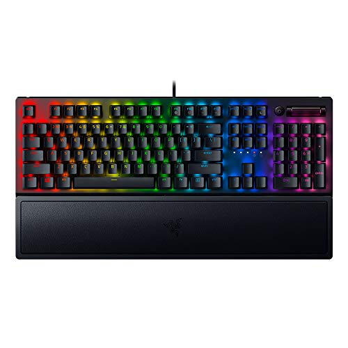Razer Blackwidow V3 - Black - Mechanical Gaming Keyboard with Razer Chroma RGB - Yellow Switch - Rz03-03541900-R3M1