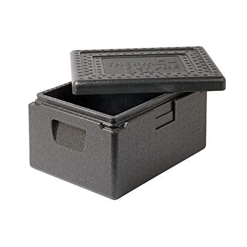 Thermo Future Box Thermobox Kühlbox, Transportbox Warmhaltebox und Isolierbox mit Deckel,13 Liter Euronorm Transportbox,Thermobox aus EPP (expandiertes Polypropylen)
