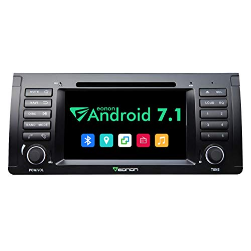 Android GA8166A Car Stereo,Android Head Unit Car Radio Stereo for BMW E53 1999-2005, 7 Inch in Dash Touch Screen Radio Octa-core 2GB RAM 32GB ROM Built-in Bluetooth Radio