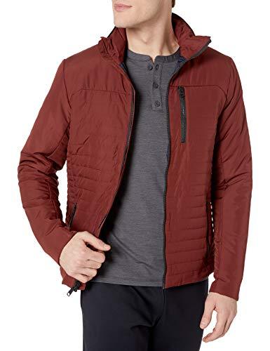 Helly Hansen Crew Insulator Jacket Chaqueta deportiva, Hombre, Rojo (Granate 229), Small (Tamaño del fabricante:S)