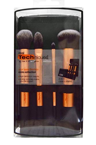RealTechniques 1403M Core Collection 2 in 1 Grundierungs Pinsel Set, 1er Pack (1 x 4 Stück)