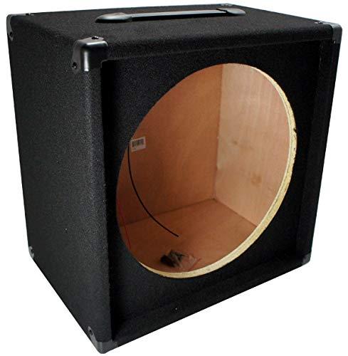 Electric Guitar 1X15 Empty 15' Speaker Carpet Cabinet Enclosure Box 1/4' Jack