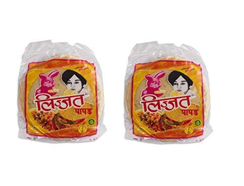 Pamai Pai® Doppelpack: 2 x 200g Indische Papadam Fladen Kreuzkümmel Linsenmehl Jeera Papad