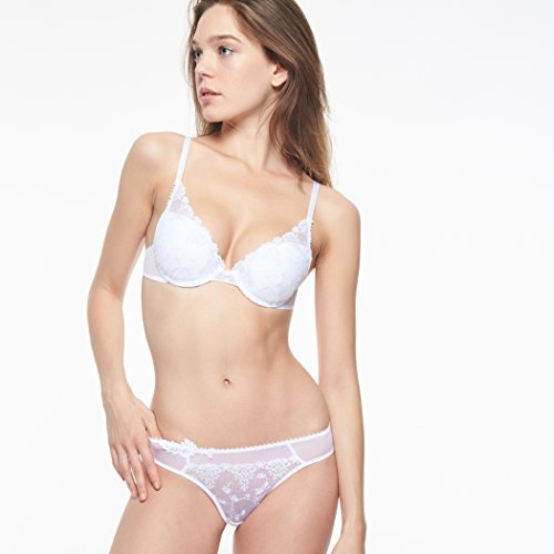Passionata Damen Push-Up BH White Nights, Weiß - 2