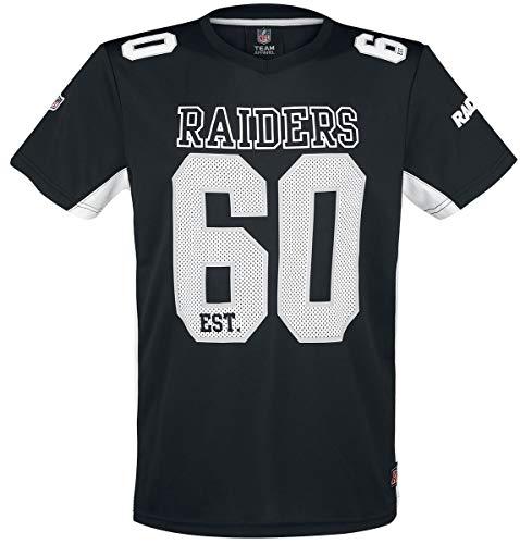 NFL Oakland Raiders Camiseta Negro S