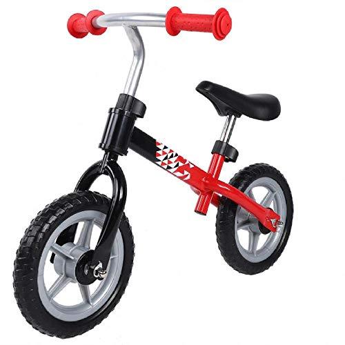 YSCYLY Kids Laufrad Roller,73x37.5x53cm Rutschfestes Rad Kein Pedal einstellbar,Leichtes Kinderrad Lauflernrad