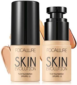 Focallure 2 Pcs Matte Foundation Cream high Coverage Liquid make Infallible Natural Longwear product image