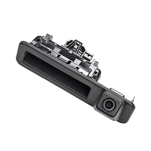 Rückfahrkamera in Griffleiste/Griffmulde Einparkhilfe Nachtsicht für BMW X1 F48 /BMW 1er F20 F21 BMW 3er F30 F35 BMW 5er F10 2018-2019(Model C=161x46mm (with Switch Button))