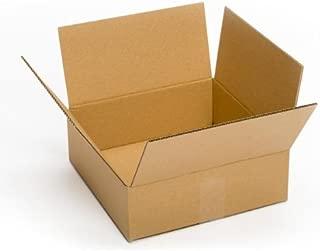 Pratt PRA0031 100% Recycled Corrugated Cardboard Box, 10