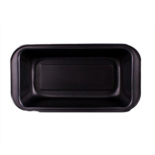 Moldes de Pan Rectangular de Acero al Carbono, Moldes para Hornear Pan Antiadherentes, Moldes de Panadería, para Tostadas, Pan, Panes