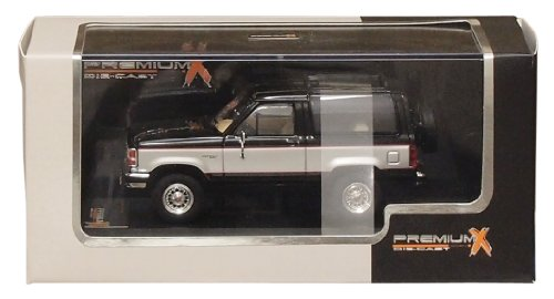 PREMIUM X 1/43 Ford Bronco II 1989 Black / Silver (japon importation)