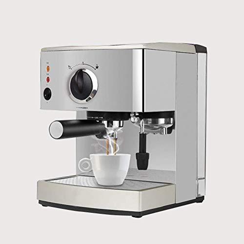 Café Espresso máquina de los 15 Bar, Capuchino, Espuma de Leche Espuma, 920W, 1.5L Capacidad de la Bandeja de Goteo extraíble Boquilla de Vapor for la preparación de Bebidas Calientes LMMS