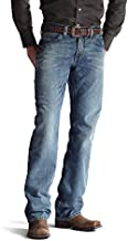 ARIAT mens M4 Low Rise Boot Cut Jeans, Scoundrel, 36 US