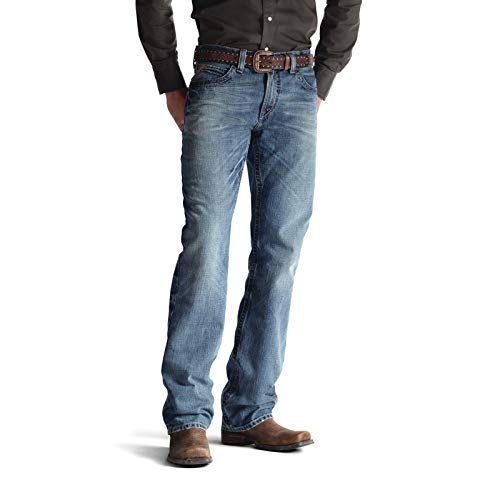 ARIAT Herren M4 Low Rise Boot Cut Jeans, Scoundrel, 30W / 34L