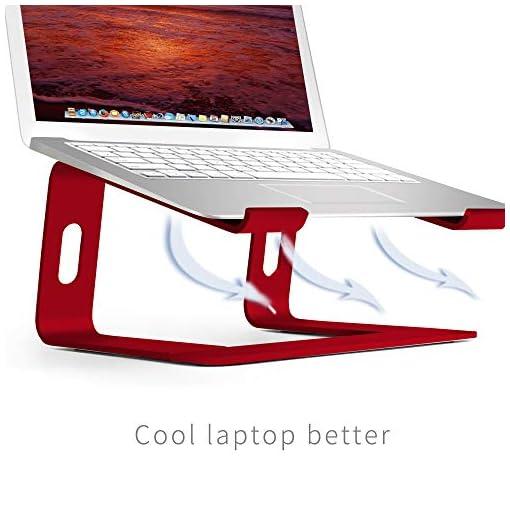 SOUNDANCE Soporte para Portátil, Soporte Ordenadores Portátiles, Soporte para Laptop de Aluminio, Bases de Portátiles… 5