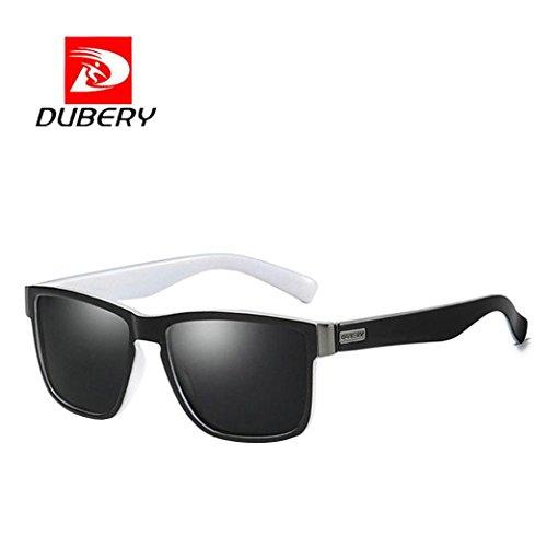 Diadia DUBERY - Gafas de sol polarizadas para hombre, protección UVA y UVB H