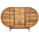 Zoom IMG-2 vidaxl legno massello di acacia