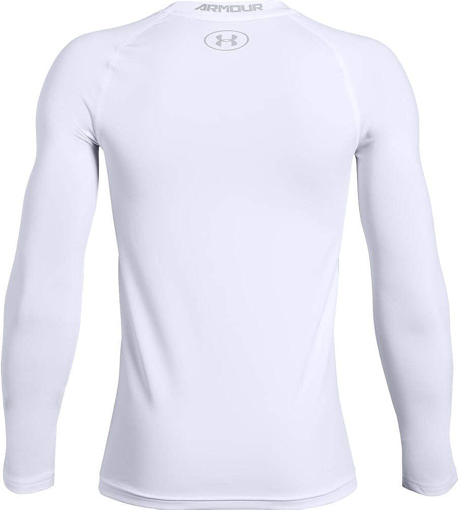Under Armour Boys' HeatGear Armour Long Sleeve T-Shirt
