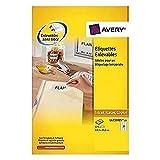 Avery, etichette adesive rimovibili 63,5 x 29,6 mm white