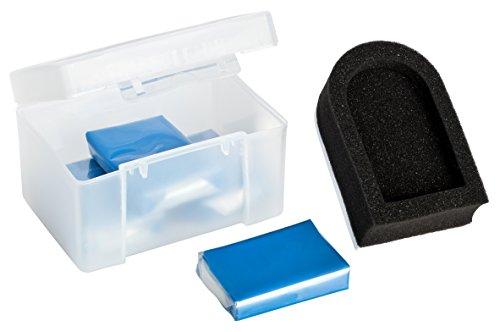 AmbiClean® Lackknete als Lackreiniger & Felgenreiniger ideal als Flugrostentferner gegen Teer, Insektenreste und andere Verschmutzungen (4 x 50 g + Halter)