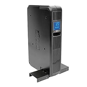 Tripp Lite SMART1500LCD 1500VA Smart UPS Battery Back Up, 900W Rack-Mount/Tower, LCD, AVR, USB, DB9, 3 Year Warranty & Dollar 250,000 Insurance Black