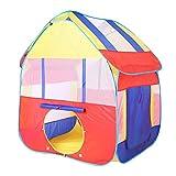 Powlance 家のテントネット糸の子供の家簡単に折り畳み海のボールプール 子供部屋屋外 室内 庭 遊具 知育玩具 秘密基地 遊び小屋 おままごと