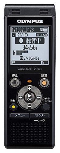 OLYMPUS Voice Trek ICレコーダー ピアノブラック V-863BLK