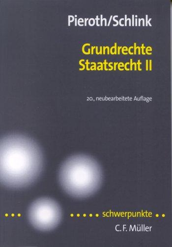 Staatsrecht 2. Grundrechteの詳細を見る