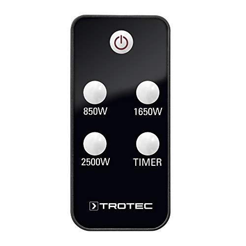 TROTEC Infrarot-Heizkörper IR 2550S. Infrarot-Heizung für den Außenbereich, Terrasse, gleichmäßige Wärmeverteilung, spritzwassergeschützt, 3Heizstufen, Leistung bis zu 2500Watt, Infrarot-Fernbedienung - 4