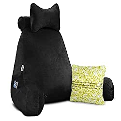 bigger 24 inch vekkia back support pillow with arms
