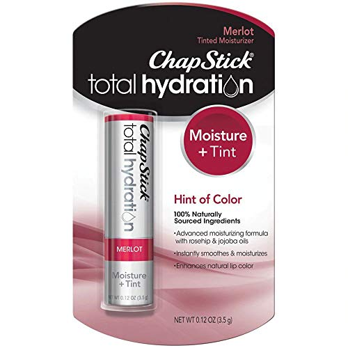 ChapStick Total Hydration Merlot 012 oz Pack of 3