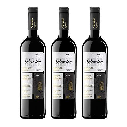 Pack Bordón Reserva Vinos tintos D.O.C Rioja (Estuche 3 Botellas)