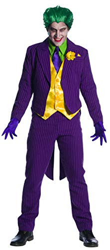 Charades DC Comics Joker Men's Costume, As Shown, Large