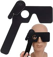 Lorgnette 15 Pinhole Occluder, Multiple Pinhole Spectacle Occluder, Eye Occluder for Eye Exams