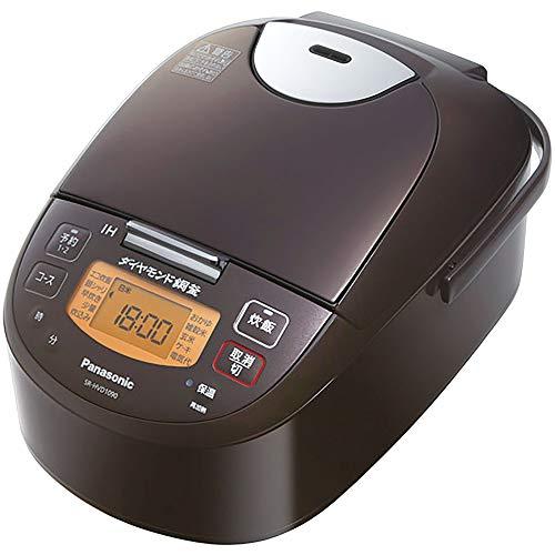 パナソニック 1升炊 IH炊飯器 SR-HVD1890-T