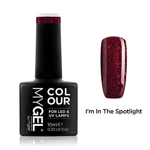 MyGel Nagellack von MYLEE (10ml) MG0010 - I\'m In The Spotlight UV / LED Nail Art Maniküre Pediküre für den professionellen Einsatz im Wohnzimmer und zu Hause - Langlebig und einfach anzuwenden