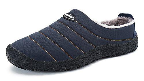 DAFENP Zapatillas de Casa para Hombre/Mujer,Unisex Zapatillas Fluff Antideslizantes...