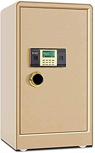 Caja fuerte digital, Caja fuerte con pantalla LCD Caja fuerte electrónica, Caja de efectivo, Caja fuerte para el hogar, Caja con cerradura, 2 llaves de emergencia Oficina de una sola puerta Caja fuer