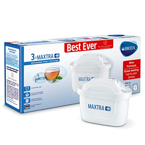 Brita Maxtra+ Water Filter Cartridges, White, Pack Of 3 (uk Version)