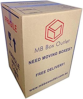 10X100L TeaChest Cardboard Moving Boxes