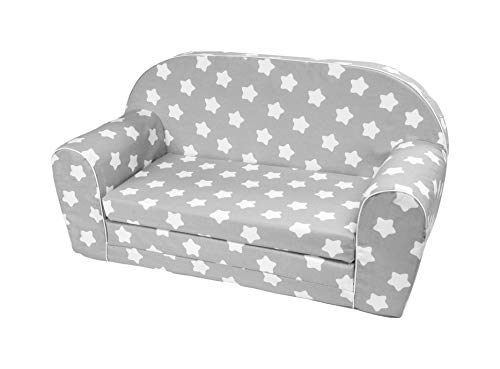 Kindersofa Kindercouch Kindersessel Sofa Bettfunktion Kindermöbel (0-3 Jahre) (S112)